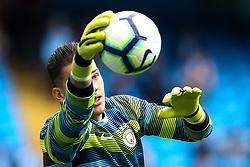 Ederson of Manchester City - Mandatory by-line: Robbie Stephenson/JMP - 19/08/2018 - FOOTBALL - Etihad Stadium - Manchester, England - Manchester City v Huddersfield Town - Premier League