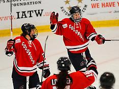2016-10-15 Robert Morris Women's Hockey vs. Vermont