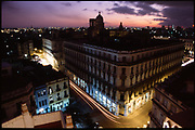 View of Havana from the roof of the Bacardi building, Havana, Cuba