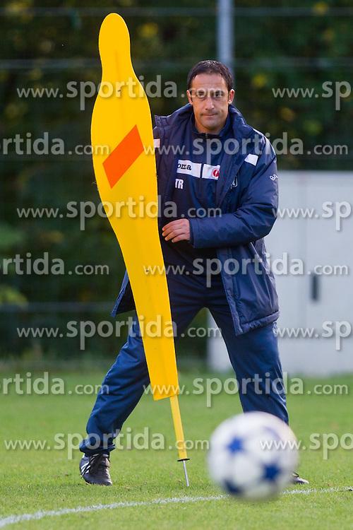 Ales Ceh, head coach of GAK, at during practice before regional match between Grazer AK and SV Tondach Gleinstätten, on October 14, 2011 at GAK Training center, Graz, Austria. (Photo By Matic Klansek Velej / Sportida)