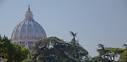 St. Peter's dome, Vatican City, Rome, Italy