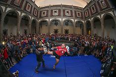 June 10, 2015: UFC 188 Open Workouts