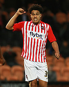 Exeter City defender Troy Brown during the Sky Bet League 2 match between Barnet and Exeter City at The Hive Stadium, London, England on 31 October 2015. Photo by Bennett Dean.