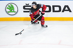 Travis Konecny of Canada during the 2017 IIHF Men's World Championship group B Ice hockey match between National Teams of Canada and Finland, on May 16, 2017 in AccorHotels Arena in Paris, France. Photo by Vid Ponikvar / Sportida
