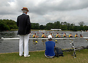 UNITED KINGDOM - HENLEY People line the river bank to watch the 171st Henley Regatta along the River Thames. 30 June 2010. STEPHEN SIMPSON...