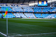 Stadium shot during the Champions League match between Manchester City and Real Madrid at the Etihad Stadium, Manchester, England on 26 April 2016. Photo by Simon Davies.