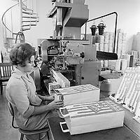 Kaffibrennsla Johnsson og Kaaber, 1968<br /> <br /> Johnson &amp; Kaaber coffee-roasting factory, 1968