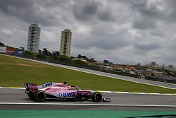 November 10, 2018 - Sao Paulo, Brazil - Motorsports: FIA Formula One World Championship 2018, Grand Prix of Brazil World Championship;2018;Grand Prix;Brazil ,  #11 Sergio Perez (MEX, Sahara Force India F1 Team) (Credit Image: © Hoch Zwei via ZUMA Wire)