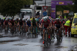 Team Norway leads the chase of Brand in the last lap of the 97,1 km second stage of the 2016 Ladies' Tour of Norway women's road cycling race on August 13, 2016 between Mysen and Sarpsborg, Norway. (Photo by Balint Hamvas/Velofocus)
