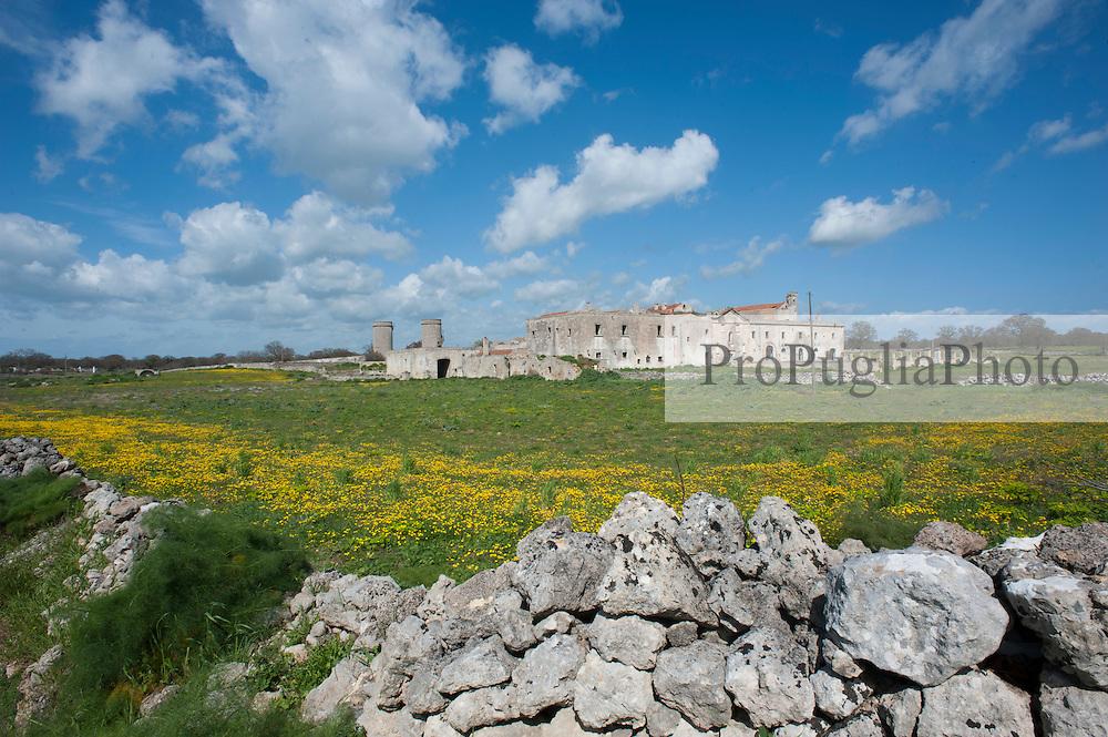 Vecchio casale abbandonato sulla provinciale Massafra-Mottola