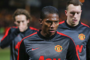 Manchester United's Antonio Valencia during the The FA Cup match between Cambridge United and Manchester United at the R Costings Abbey Stadium, Cambridge, England on 23 January 2015. Photo by Phil Duncan.