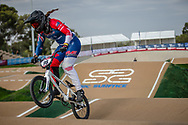 at Round 1 of the 2020 UCI BMX Supercross World Cup in Shepparton, Australia