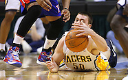 NBA-Indiana Pacers vs Detroit Pistons-Indianapolis, IN