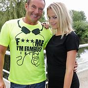 NLD/Amsterdam/20120822 - Perspresentatie SBS Sterren Springen,presentatoren, Gerard Joling, Tess Milner