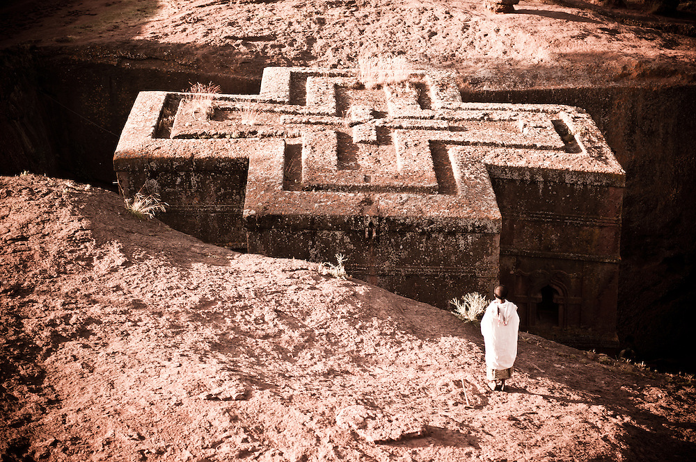 The churches of Lalibela in Ethiopia