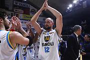DESCRIZIONE : Cremona Lega A 2015-2016 Vanoli Cremona Sidigas Avellino<br /> GIOCATORE : Marco Cusin<br /> SQUADRA : Vanoli Cremona<br /> EVENTO : Campionato Lega A 2015-2016<br /> GARA : Vanoli Cremona Sidigas Avellino<br /> DATA : 20/12/2015<br /> CATEGORIA : Ritratto Esultanza<br /> SPORT : Pallacanestro<br /> AUTORE : Agenzia Ciamillo-Castoria/F.Zovadelli<br /> GALLERIA : Lega Basket A 2015-2016<br /> FOTONOTIZIA : Cremona Campionato Italiano Lega A 2015-16  Vanoli Cremona Sidigas Avellino<br /> PREDEFINITA : <br /> F Zovadelli/Ciamillo