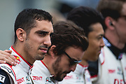 Sébastien Buemi<br /> TOYOTA GAZOO  Racing. <br /> Le Mans 24 Hours Race, 11th to 17th June 2018<br /> Circuit de la Sarthe, Le Mans, France.