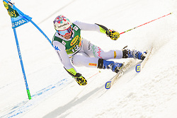 March 9, 2019 - Kranjska Gora, Kranjska Gora, Slovenia - Luca De Aliprandini of Italy in action during Audi FIS Ski World Cup Vitranc on March 8, 2019 in Kranjska Gora, Slovenia. (Credit Image: © Rok Rakun/Pacific Press via ZUMA Wire)