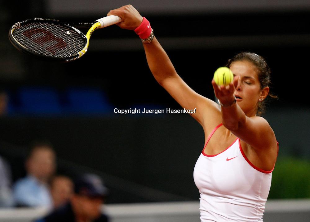Porsche Tennis Grand Prix, WTA Tour, Damen Turnier in Stuttgart, Julia Goerges (GER),..Foto: Juergen Hasenkopf..