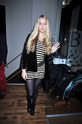 FLORENCE BRUDENELL-BRUCE at the opening of the Brompton Bar & Grill, 243 Brompton Road, London SW3 on 11th March 2009.