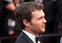 Alden Ehrenreich at the Solo: A Star Wars Story gala screening at the 71st Cannes Film Festival, Tuesday 15th May 2018, Cannes, France. Photo credit: Doreen Kennedy