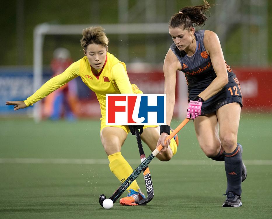 AUCKLAND - Sentinel Hockey World League final women<br /> Match id: 10305<br /> 16 NED v CHina (QF)<br /> Foto: Lidewij Welten <br /> WORLDSPORTPICS COPYRIGHT FRANK UIJLENBROEK
