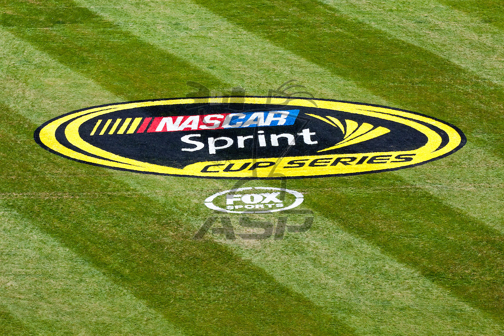 KANSAS CITY, KS - APR 22, 2012:  Kansas Speedway plays host to the STP 400 NASCAR Sprint Cup race in Kansas City, KS.