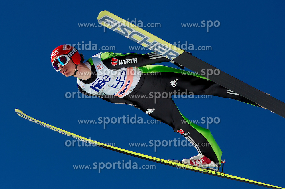 Andreas Wank of Germany during Flying Hill Individual Qualifications at 1st day of FIS Ski Jumping World Cup Finals Planica 2012, on March 15, 2012, Planica, Slovenia. (Photo by Vid Ponikvar / Sportida.com)
