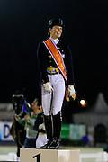 Podium Nederlands Kampioenschap 1. Madeleine Witte Vrees, <br /> Nederlandse Kampioenschappen 2010<br /> © DigiShots