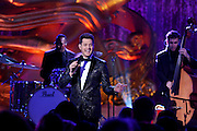 Michael Buble performs at the 2015 Rockefeller Center Christmas Tree Lighting Ceremony, Wednesday, Dec. 2, 2015 in New York. (Photo by Diane Bondareff/Invision for Tishman Speyer/AP Images)