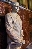 Géorgie, région de Kartlie intérieure, Gori, ville natale de Joseph Staline, le musée Joseph Staline // Georgia, Caucasus, Kartlie region, Gori, Joseph Staline museum