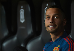 March 23, 2019 - Valencia, Valencia, Spain - Sergio Canales of Spain national team prior the European Qualifying round Group F match between Spain and Norway at Estadio de Mestalla, on March 23 2019 in Valencia, Spain  (Credit Image: © Maria Jose Segovia/NurPhoto via ZUMA Press)