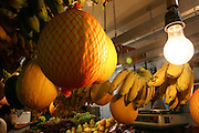 Belo Horizonte_MG, Brasil...Detalhe de abacaxi no Mercado Central...Detail of pineapples in Mercado Central...Foto: LEO DRUMOND / NITRO