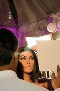 Inspelning av Bollywood-filmen Dulha Mil Gaya - Found a Groom. .Skåderspelerskan på bilden syns Sushmita Sen. Känd Bollywood-skådis och Miss Universe 1994....COPYRIGHT 2008 CHRISTINA SJÖGREN.ALL RIGHTS RESERVED...