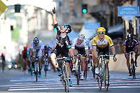 Victoire de Viviani Elia - Sky / Moreno Hofland  - LOTTO NL JUMBO  - 10.05.2015 - 2eme etape du Giro 2015<br />Photo : Sirotti / Icon Sport