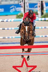 Verlooy Jos, BEL, Igor<br /> Tryon - FEI World Equestrian Games™ 2018<br /> Springen Zeitspringprüfung Teamwertung Einzelwertung 1 Runde<br /> 19. September 2018<br /> © www.sportfotos-lafrentz.de/Dirk Caremans