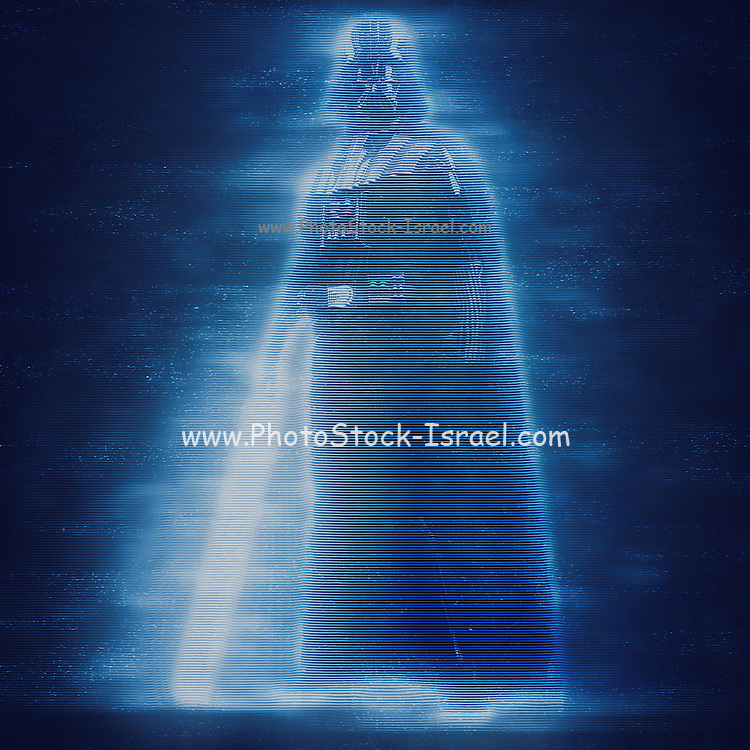 Digitally Enhancement Darth Vader Star wars action figure