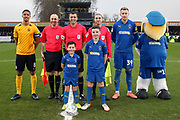 Mascot during the EFL Sky Bet League 1 match between AFC Wimbledon and Southend United at the Cherry Red Records Stadium, Kingston, England on 1 January 2020.
