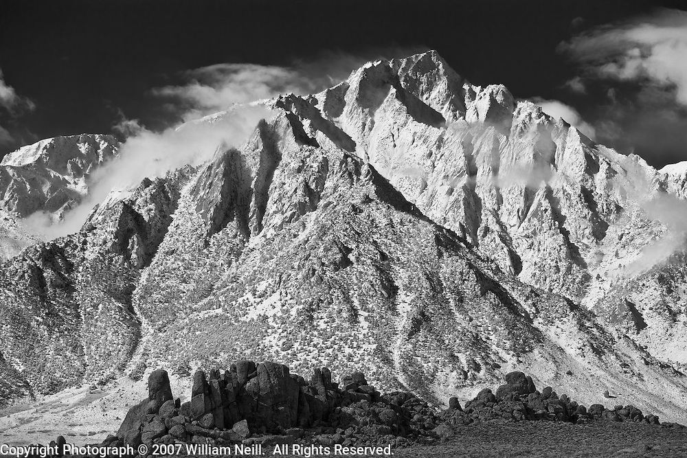 Lone Pine Peak and the Alabama Hills, California