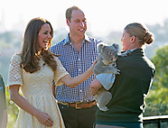 Duke & Duchess Cambridge Meet Leuca The Koala