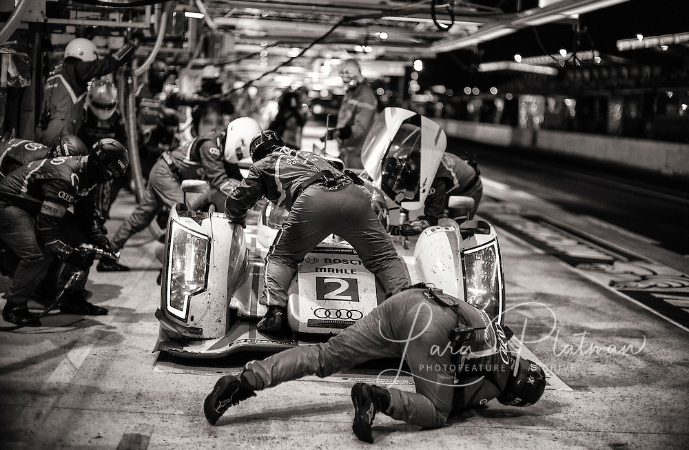 Le Mans 2013, Through the Night