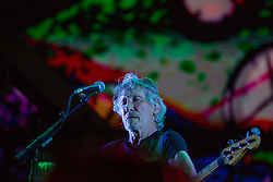 October 9, 2018 - Sao Paulo, Sao Paulo, Brazil - ROGER WATERS performs at Allianz Park in Sao Paulo, Brazil. The show is part of the Us + Them tour with Pink Floyd classics and solo career songs. (Credit Image: © Paulo Lopes/ZUMA Wire)