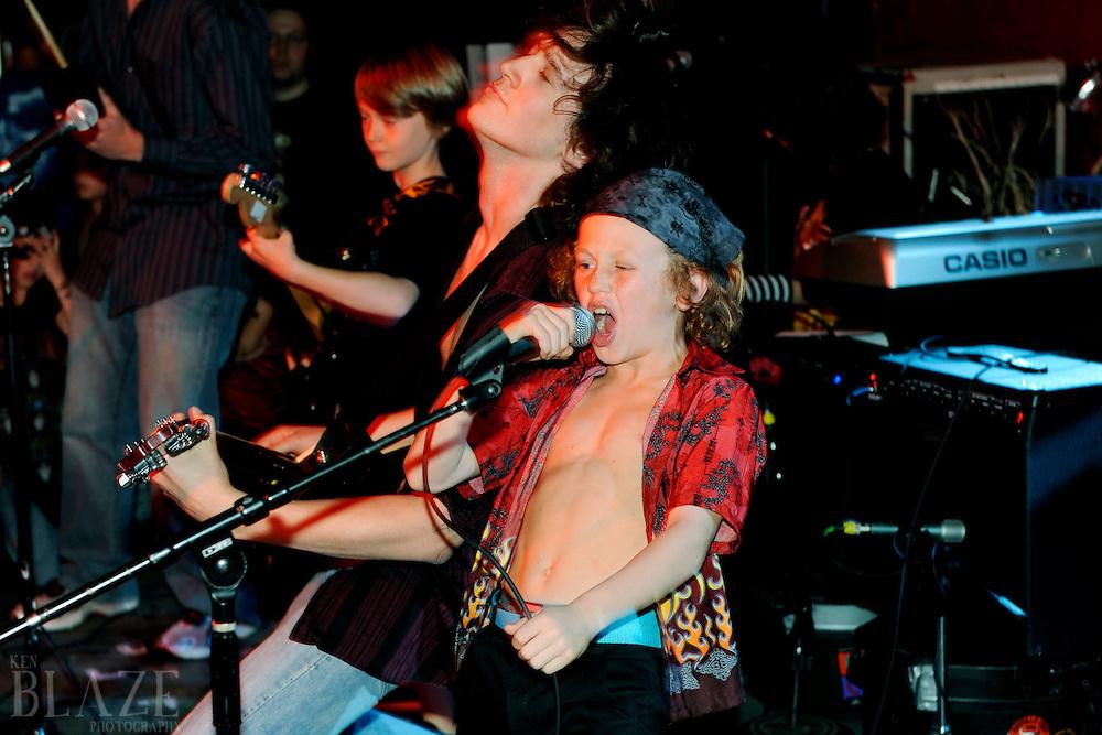 School of Rock - Eastside, Metal.Grog Shop.May 15, 2009.Photo by Ken Blaze.www.kenblaze.com.
