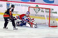 Hockey, eliteserien, UPC-ligaen, 07.10.2004, Trondheim Black Panters ( TIK ) – Lillehammer 5-1<br />Nick Smith scorer til 2-1<br /><br />Foto: Carl-Erik Eriksson, Digitalsport