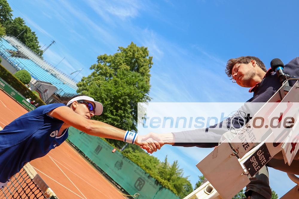 "Arantxa Parra Santonja ESP (TC Bredeney Essen), 2. BL LTTC ""Rot-Weiß"" Berlin vs. TC Bredeney Essen, Berlin, 19.05.2018, Foto: Claudio Gärtner"
