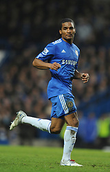 LONDON, ENGLAND - Sunday, February 7, 2010: Chelsea's Florent Malouda during the Premiership match at Stamford Bridge. (Photo by Chris Brunskill/Propaganda)