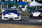 October 3-5, 2013. Lamborghini Super Trofeo - Virginia International Raceway. #14 Andrew Palmer, GMG Racing, Lamborghini of Beverly Hills