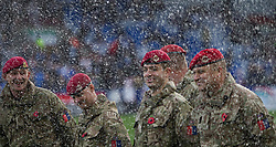 General view of Service Men and Women ahead of Remembrance sunday - Mandatory by-line: Jack Phillips/JMP - 10/11/2018 - FOOTBALL - The John Smith's Stadium - Huddersfield, England - Huddersfield Town v West Ham United - English Premier League
