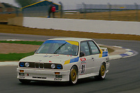 #91 Peggen Andersson BMW Team Sweden BMW M3  during Round 1of the 1991 British Touring Car Championship at Silverstone, Towcester, Northamptonshire, United Kingdom. 1st April 1991, World Copyright Peter Taylor/PSP. Copy of publication required for printed pictures.