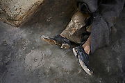 A worker from a nighbouring village was slaughtered by a throat cut made by syrian Forces. On 22. February the syrian army attacked the village of Kureen, Province of Idlib, Syria. Kureen was among the first villages in the northwest of Syria controlled by the opposition. Some villagers and members of the defence units escaped to surrounding olive orchards, when the attack begun in the early morning. A majority of the inhabitants didn´t manage to escape. The heavy shelling lasts 7 houres. Soldiers searched all houses, burnt some of them down, loote shops, stole cars and furniture. About 60 motorcycles were burnt down. Tanks demolished several houses. 6 men were executed. One woman died as a result of an heart attack.